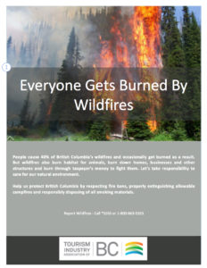 Wildfire PSA - Tourism Industry Association of BC